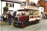 Open Top Bus, Eccleshall Festival,