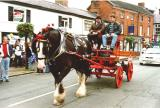 Horse and Cart, Eccleshall Festival,