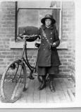 Telegram Delivery Woman, Stafford,