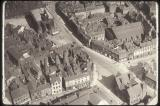 An Aerial view of Burslem town centre