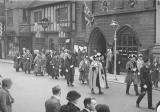 Civic Procession outside the Guildhall, Bore Street, Lichfield
