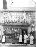 Rugby.  W. Cleasby's butchers shop