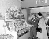 Leamington Spa.  Macfisheries shop opening