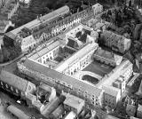 Warwick.  Aerial view of Shire Hall