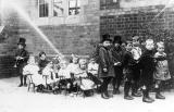 Coleshill.  Children formed up as
