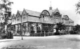 Leamington Spa.  Municipal schools and library