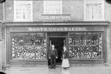 Coleshill.  Goldby & Son, boot and shoe makers