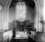 Cubbington.  Church, interior, east end