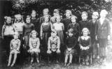 Ashorne.  School children