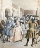 Figures In Eighteenth Century Costume