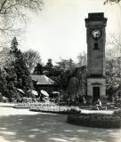 Jephson Gardens, Davis Clock Tower and Cafe, Leamington Spa