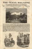 The Penny Magazine, 1832, Featuring Warwick Castle