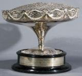 Miss Great Britain Ornate Silver Trophy